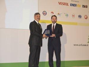 Mutlu Akü'ye enerji verimli endüstriyel tesis dalında birincilik ödülü