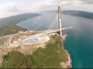 3. Köprü'nün demir yolu bağlantısı ihalesi bu yıl sonu yapılacak