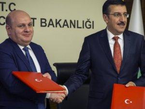 Türkiye ile Gürcistan arasında E-TIR projesi imzalandı