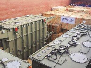 ARKAS, Türkmenistan'a enerji santrali ekipmanı taşıdı