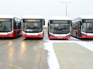 Türkiye'nin ilk elektrikli otobüslerine Konyalılar binecek