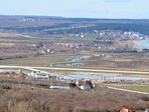 Sinop Havalimanı'nı su bastı