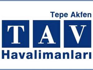 TAV Havalimanları ilk çeyrek rakamlarını açıkladı
