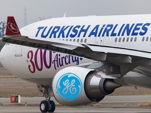 Türk Hava Yolları'nın 300'üncü uçağına GE'nin CF6 motorları güç veriyor