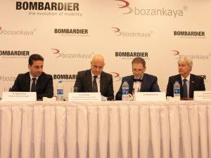 Bombardier ve Bozankaya, Türkiye'de yerel üretim için stratejik işbirliği anlaşmasına imza attı