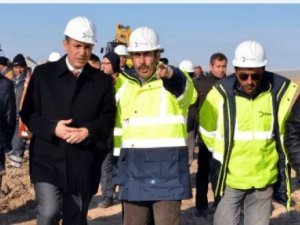 Afşin-Elbistan-Divriği doğalgaz çalışmaları devam ediyor
