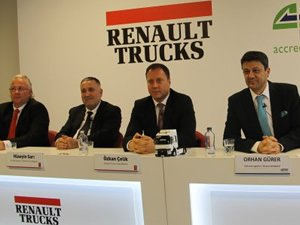 Sertrans Logistics'e 70 Renault Trucks gücü