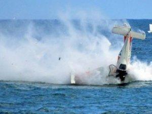 ABD'de küçük uçak denize düştü