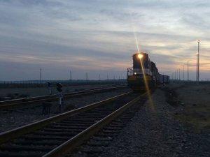 Çin'den İran'a ilk tren seferi tamamlanıyor