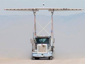 NASA elektrikli uçak pervanelerini tırla test ediyor