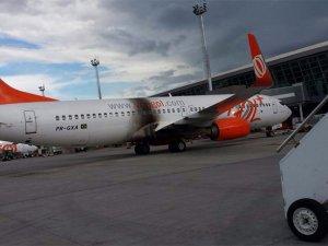 Yolcu uçağında yangın paniği