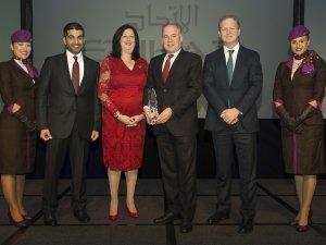 Etihad Airways 2016 yılının havayolu seçildi