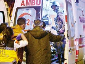 Denizciler Ankara'daki terör saldırısına tepki gösterdi