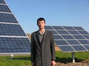 Güneş enerjisi ile tarımsal sulama sistemi kuruldu!