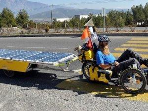 Güneş enerjili bisiklet Muğla'da!