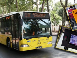 """İETT otobüslerine """"panik butonu!"""""""