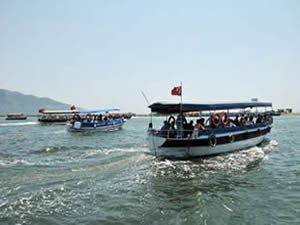 Dalyan'da deniz ulaşımı 1 Mayıs'ta başlıyor