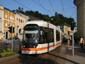 Avusturya Linz'de yeni bir tramvay hattı açıldı