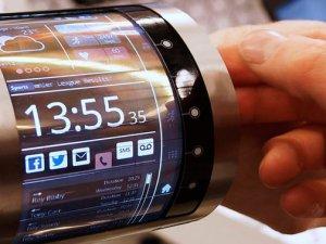 Telefon ekranları gelecekte böyle olacak