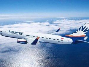 Sunexpress uçağı zorunlu iniş yaptı