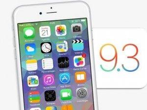 iOS 9.3 Beta 5 dağıtıma sunuldu