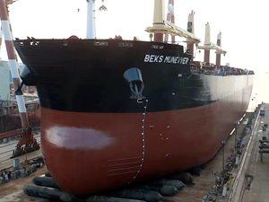 Beks Gemi İşletmeciliği, M/V BEKS MUNEVVER isimli kuru yük gemisini teslim aldı