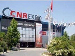 İlan ve reklam vergisi ödemeyen CNR Fuarcılık'a haciz başlatıldı