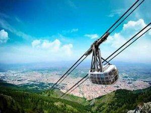 Manisa Spil Dağı teleferik projesi hayata geçiyor