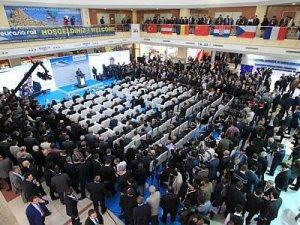 Dünya demiryolu sektörünü bir araya getiren Eurasia Rail 2016 fuarı açıldı