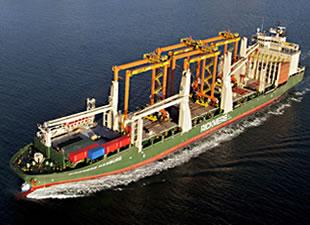 Siemens'in gaz türbini Rickmers-Linie tarafından taşınacak