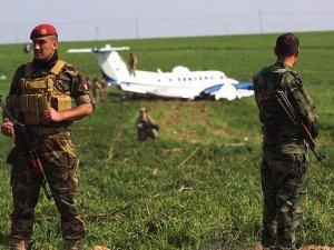 Erbil'de ABD'ye ait askeri uçak zorunlu iniş yaptı