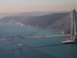 3. Köprünün son tabliyesi bugün yerleştirilecek