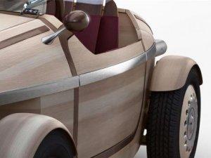 Toyota'nın tamamen ahşap elektrikli otomobili!