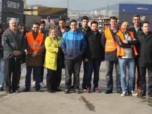 FIATA Diploma Eğitimi katılımcılarından U.N Ro-Ro'ya ziyaret