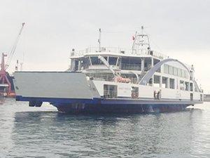 M/F Ahmet Piriştina 12 Mart'ta İzmir Körfezi'nde ilk seferine çıkıyor
