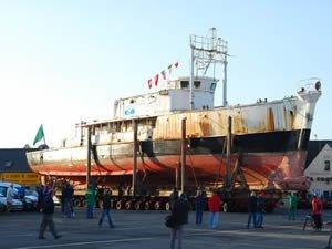Kaptan Cousteau'nun Calypso'su Türk denizcilerine emanet