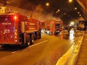 Bolu Dağı Tüneli'nde İstanbul yönü ulaşıma açıldı