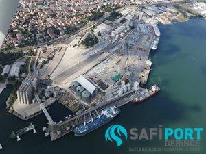 Safiport Derince, intermodal lojistik merkezi kuruyor