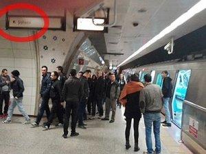 İstanbul Metrosu'nda teknik arıza