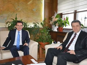 Avustralya Büyükelçisi TCDD'yi ziyaret etti