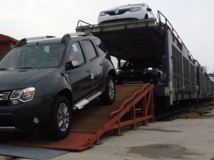 OMSAN, Dacia'yı demiryoluyla taşıyor