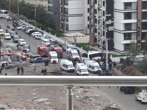Diyarbakır'da şiddetli patlama: 7 polis şehit, 14 kişi yaralı