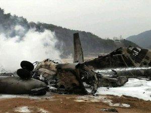 Özbekistan'da askeri helikopter düştü: 9 ölü