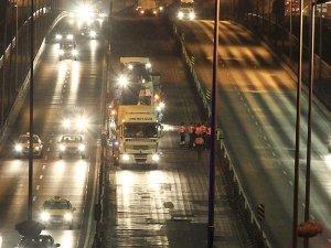 Metrobüs hattı asfalt yenileme çalışmaları başlıyor