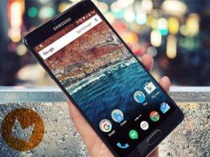 Galaxy Note 4 için Android 6.0.1 Marshmallow güncellemesi başladı