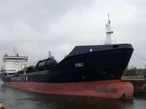 Kaptanoğlu Denizcilik'e ait M/T Puli adlı tankerin 6 mürettebatı kaçırıldı