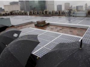 Çin'den yağmur suyunu enerjiye çevirebilen panel