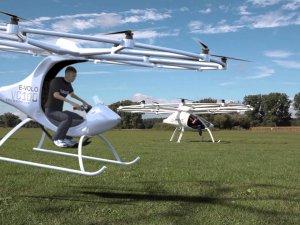 Volocopter ilk insanlı uçuşunu gerçekleştirdi