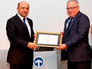 TIRSAN'a TAYSAD'dan başarı ödülü