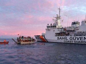 Denizde yakalanan göçmen sayısı 3 ilin nüfusunu geçti